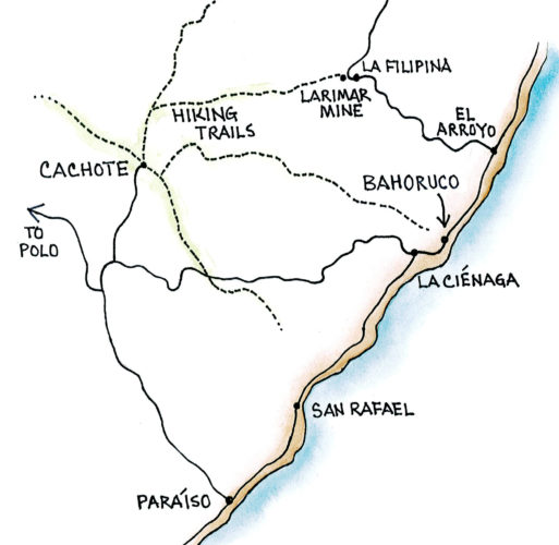 Cachote (Map by Dana Gardner)