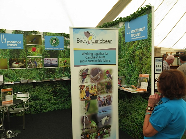 BirdsCaribbean and the Caribbean Birding Trail Being Promoted at the British Bird Fair