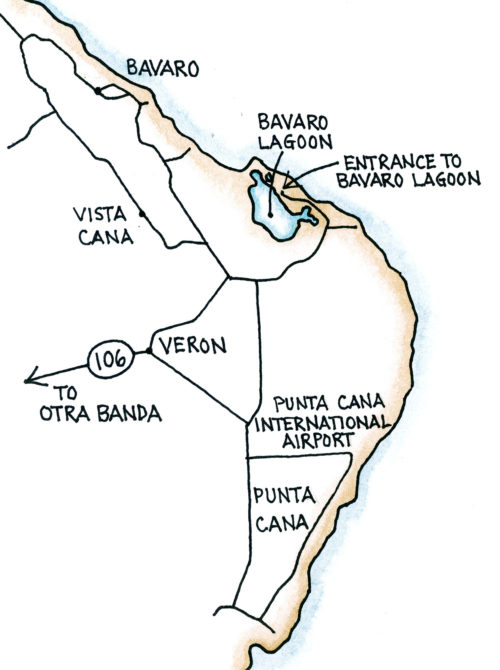 Bávaro (Map by Dana Gardner)