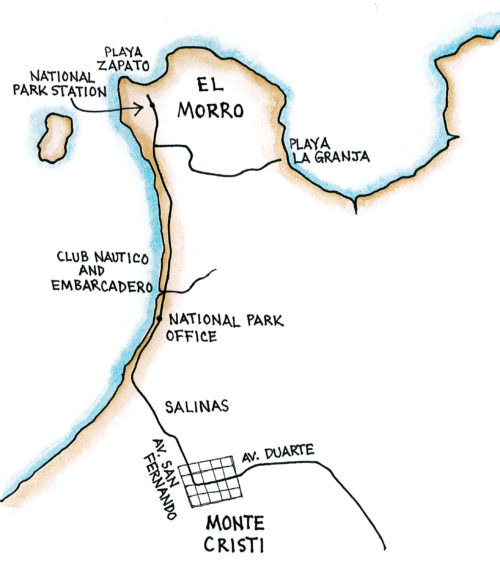 Cayos Siete Hermanos (Map by Dana Gardner)