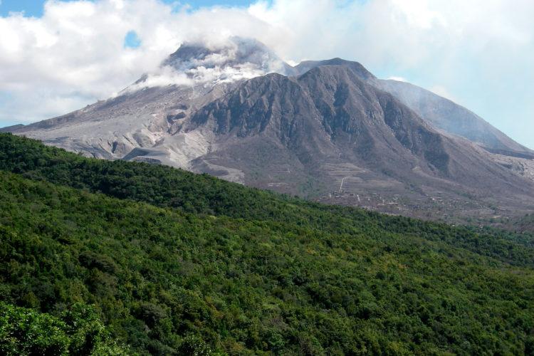 Soufrière Hills Volcano (Photo by Dr. Mike Pienkowski)