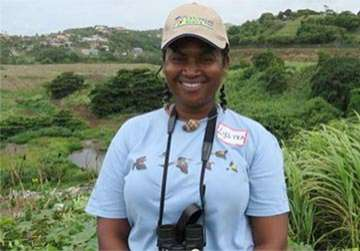 Lystra Culzac, Bird Guide on St. Vincent